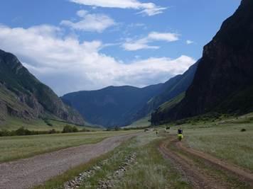Путешествие в Восточный Алтай. Андрей Басалаев