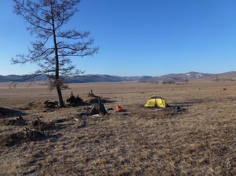 Велопоход в межсезонье по центральной  части Хакасии. Андрей Басалаев