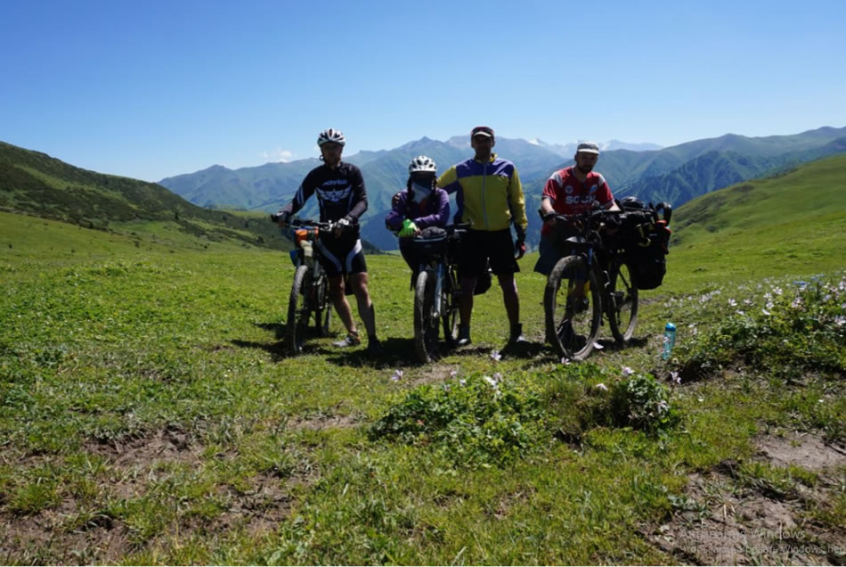 Отчет о велопоходе по территории Республики Кыргызстан (Тянь-Шань) 2019. Андрей Басалаев