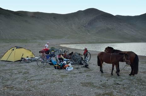 Велопутешествие по Монголии. Гольдберг Антон