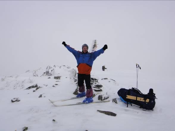 Лыжный поход «по родному  краю» 2013