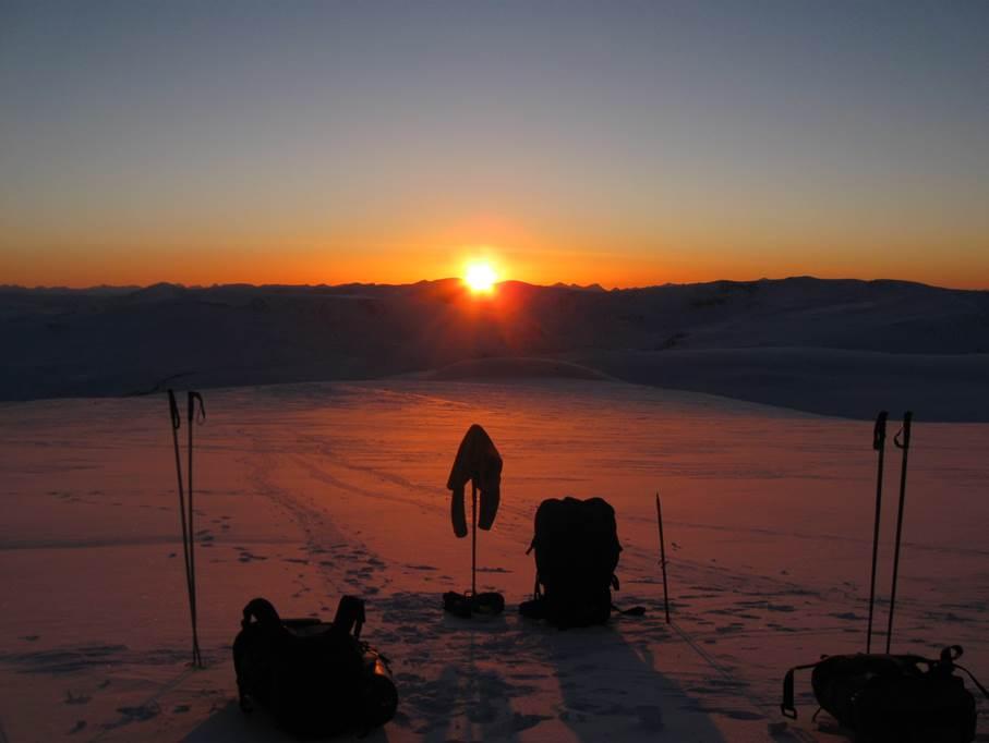 Лыжный поход по Алтаю
