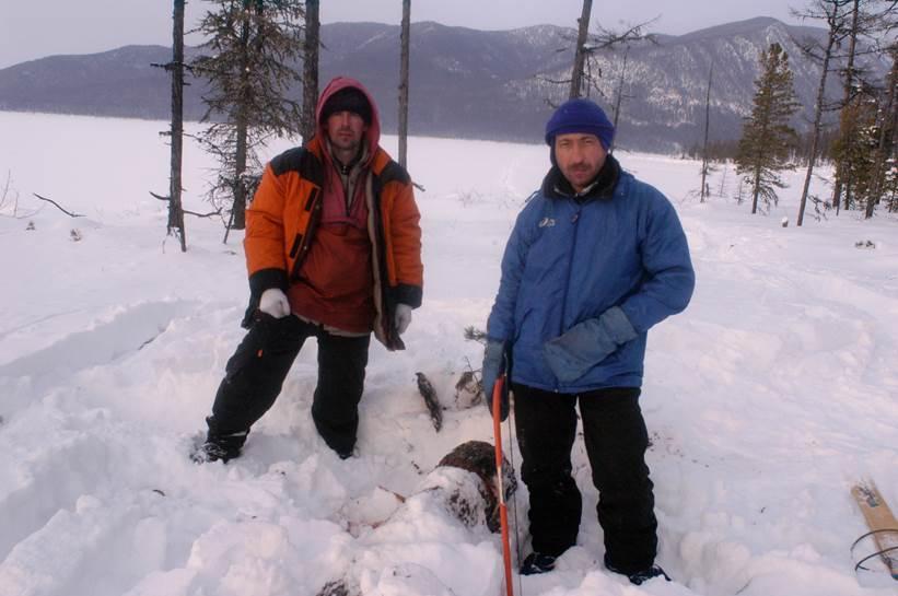Лыжный поход по Байкалу