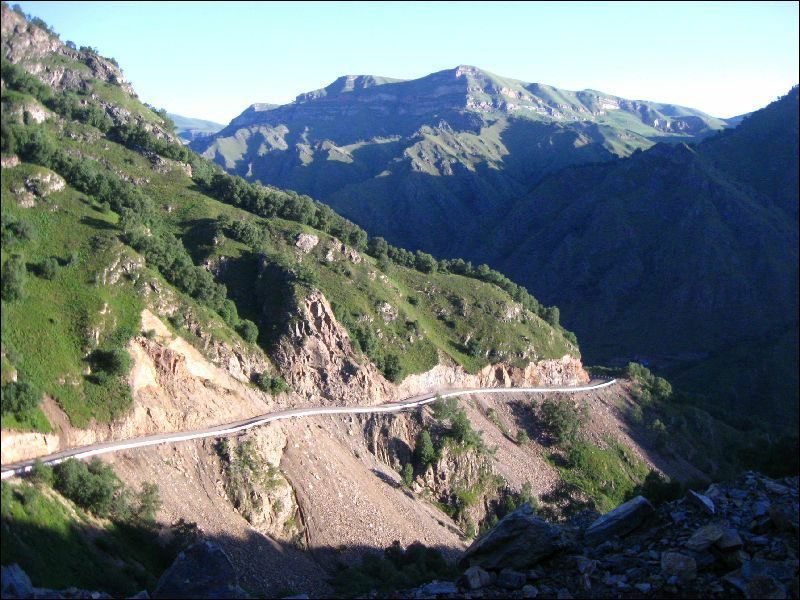 4. Подъем на перевал Харбазский