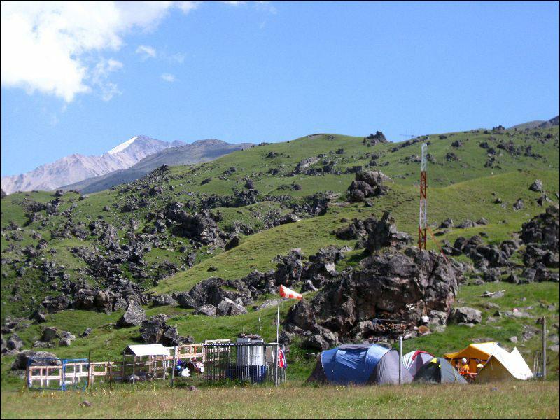 21. Альплагерь на Кызылколе