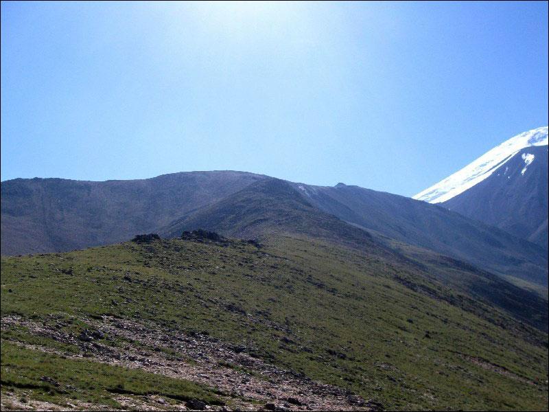 30. На спуске с перевала Балкбаши