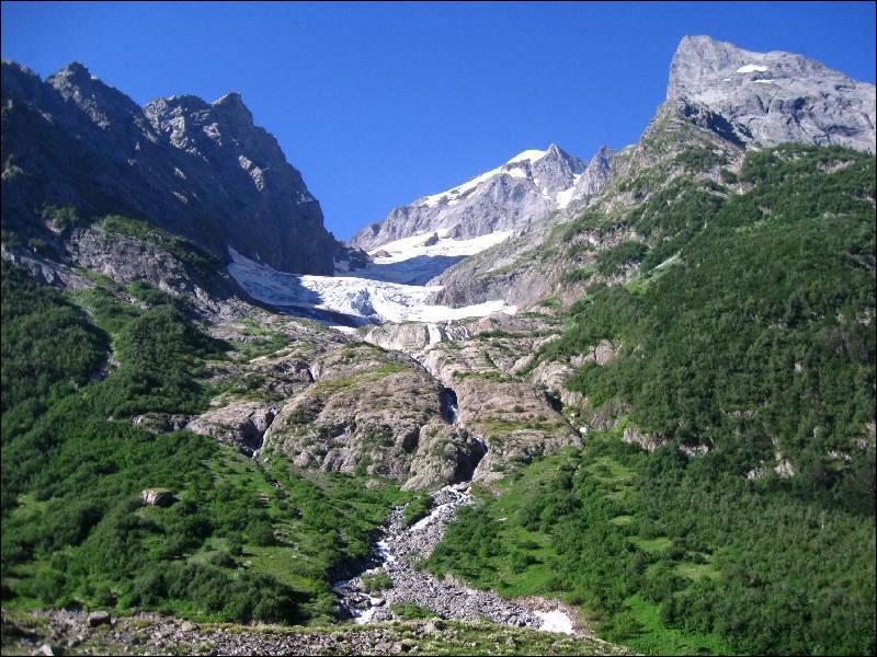 46. Вид с дороги к Чучхурским водопадам