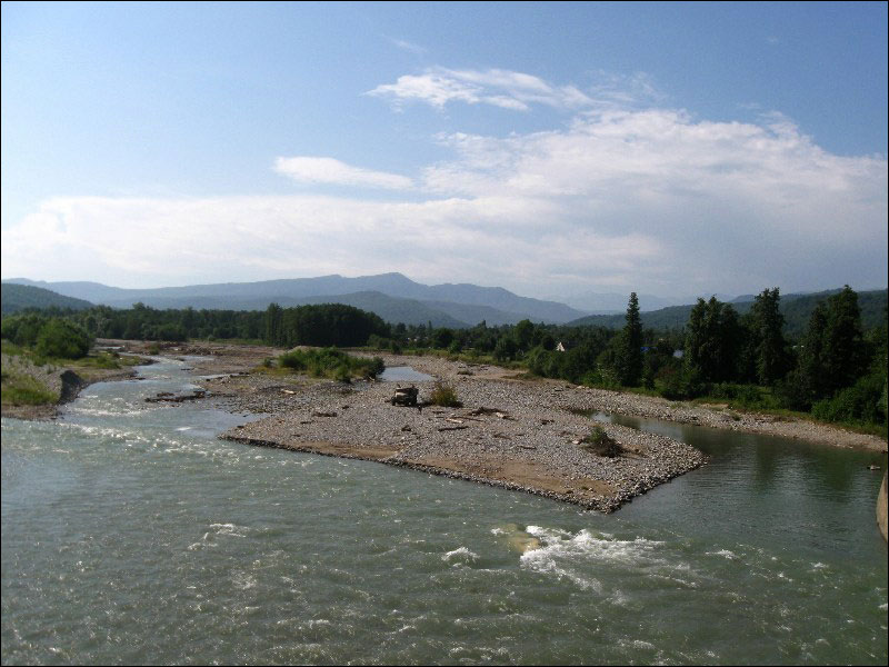 54. Река Малая Лаба