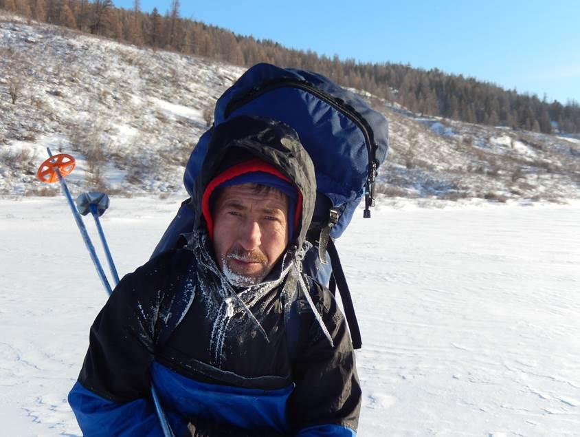 Западный Саян 2015. Николай Белых. Лыжный поход.