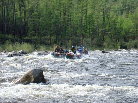 Сплав по рекам Кыджимит и Витим в Республике Бурятия