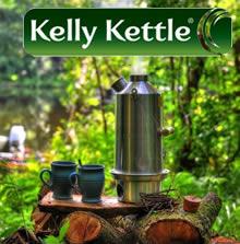 Kelly Kettle  самовары для отдыха на природе