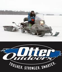 Сани Otter Outdoors для снегохода и для зимней рыбалки купить