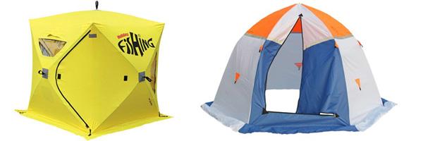 Типы автоматических палаток